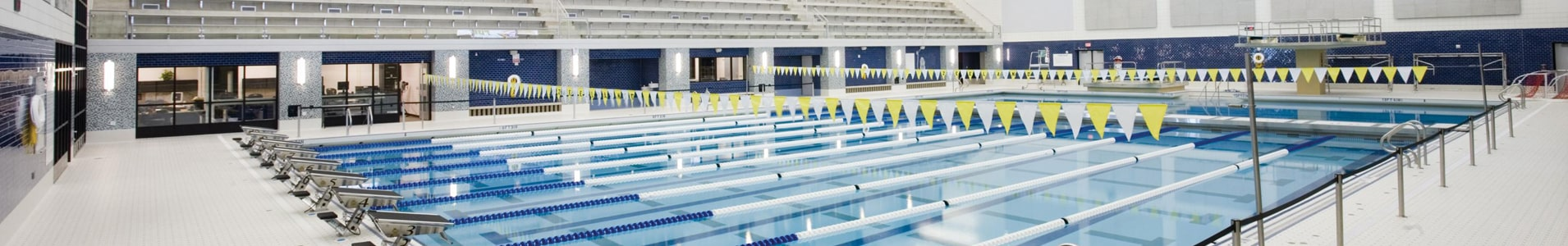 Image of an athletic facility serviced through our National Accounts.