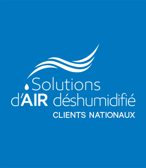 Solutions d'air déshumidifié